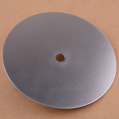 "6""Grit 600 Coated Flat Lap Wheel Lapidary Grinding Polishing Disc 15.2x1.2x0.1cm"
