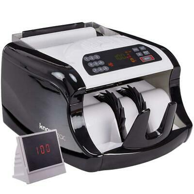 Knox Cash Bill Counter with Counterfeit Detection – Money Counting Machine...