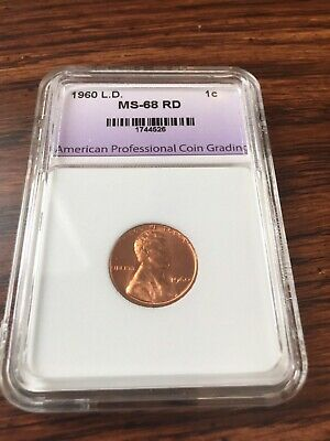 1960 P Large Date Proof 1 Cent Lincoln Memorial Penny HIGH GRADE Certified