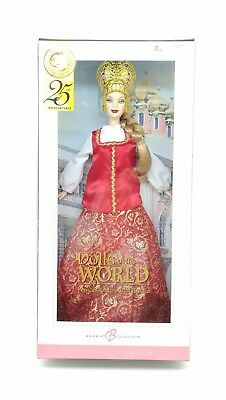 Barbie Dolls Of The World Princess Of Imperial Russia 2004 Pink Label Nrfb