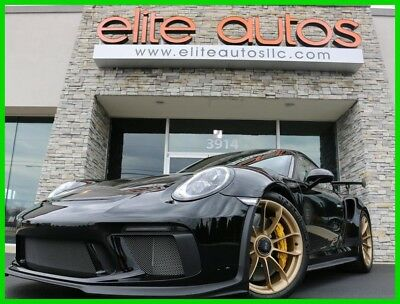 2019 Porsche 911 Very rare options SPECIAL ORDER DOOR SILLS and other exclusives 2019 GT3RS GT3 RS Weissach LOADED front lift system ONLY 85 miles
