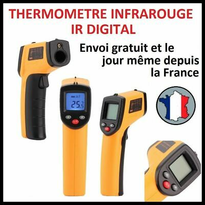 Thermometre Infrarouge Ir Digital Temperature Surface Sans Contact Laser Cuisine