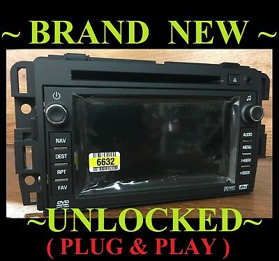 FACTORY RADIO UNLOCK Navigation Bypass Interface Chevy GM