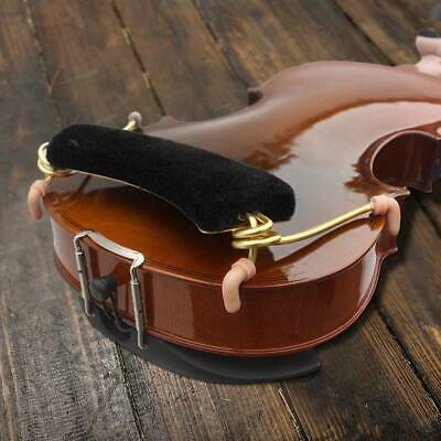 BLACK ALLOY VIOLIN Shoulder Rest for 3/4 4/4 Violin