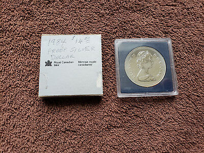 1984 Canada Proof Silver Dollar Toronto Commemorative