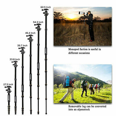 Q666 Zomei Protable Magnesium Alloy Digital Camera Traveling Tripod Monopod sRC