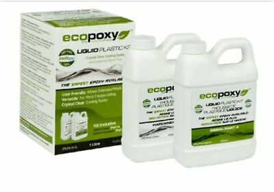 New ECOPOXY LIQUID PLASTIC 1 L litre, USA dealer