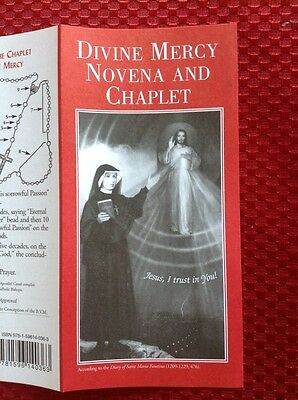 DIVINE MERCY NOVENA AND CHAPLET Jesus I Trust In You