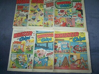 7  Whizzer & Chips 3/1, 17/1, 24/1, 7/2, 14/2, 28/2, and 7/3/1987