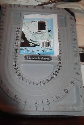 Beadalon Bead Design Board With Portfolio Case And Storage Pocket