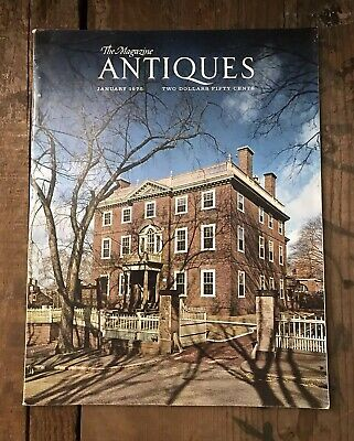 The Magazine ANTIQUES January 1975