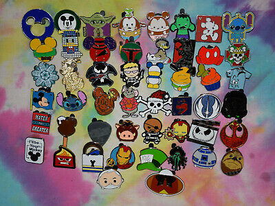 BOY PINS ONLY!!! DISNEY World trading PIN LOT 50 FREE SHIPPING