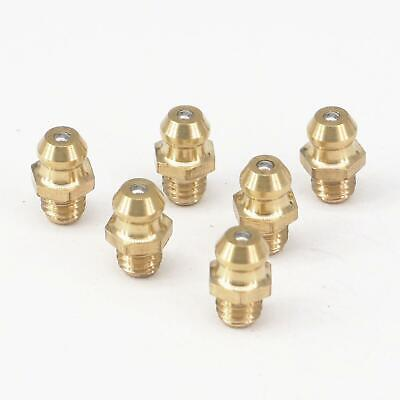Pack of 20 M6 x 1mm Brass Grease nipples Steam Stationary Engine model
