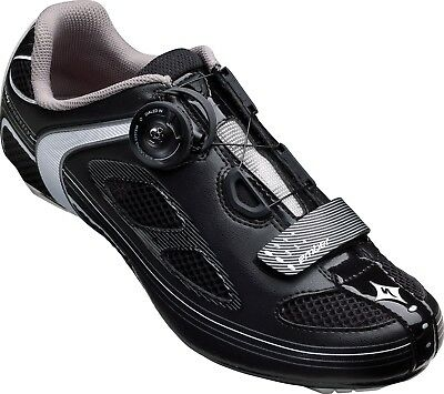 New-Old-Stock Specialized Women/'s Ember Road Shoes Black w//Turq Blue BOA 3-Bolt