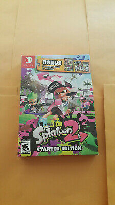 Splatoon 2: Starter Edition (Nintendo Switch, 2017) New!