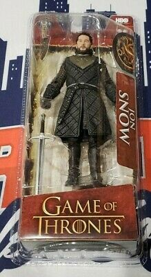 """McFarlane Toys GAME OF THRONES 6"""" Figures JON SNOW New in Package"""