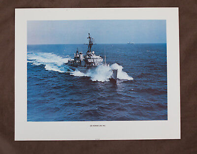 6b317d7d3b775 USS BURNS (DD-171) Navy Destroyer - Boat Poster Print - Military ...