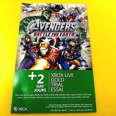 Xbox Live Gold 2 Day Trial 48 Hour Dlc Add-On #20