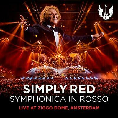 Simply Red-Symphonica In Rosso (Live At Ziggo Dome Amsterdam) (Us Import) Cd New