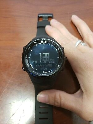 832ece2fee97c5 SUUNTO CORE SMART Watch Mountaineering Trail Running All Black ...