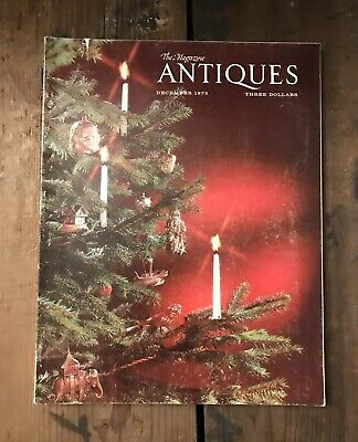The Magazine ANTIQUES December 1975