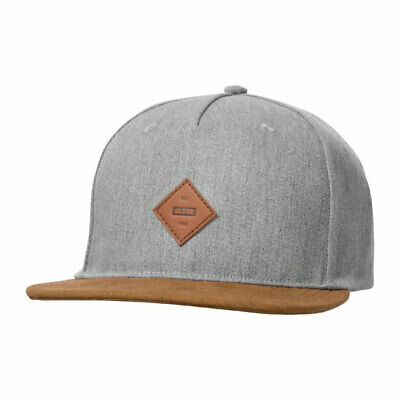 Cappellino Globe Gladstone II Snap Back Heather Grey