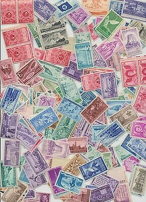 Mint Us Postage Stamps 13 Different Over 60 Years Old  3 Cent Collector Stamps