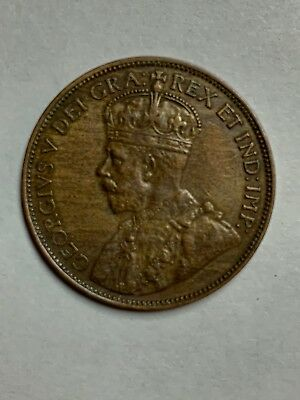 1912 Canada Large One Cent  Uncirculated