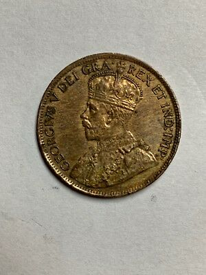 1914 Canada Large One Cent  Uncirculated