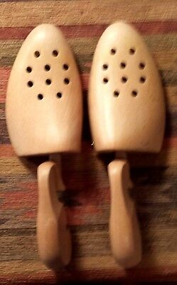 Vintage West German Fitwell Wooden Shoe Tree Model 51 BH Size Small