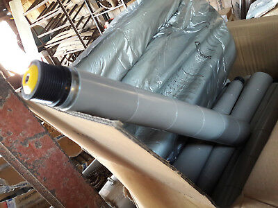 TAPERED CONVEYOR ROLLERS INTERROLL LINE SHAFT 73x 650mm LONG NEW FREE UK POST