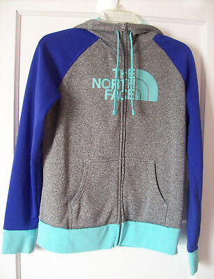 fdc5b8930 THE NORTH FACE Half Dome Black Full Zip Hoodie Jacket Lined Agave ...