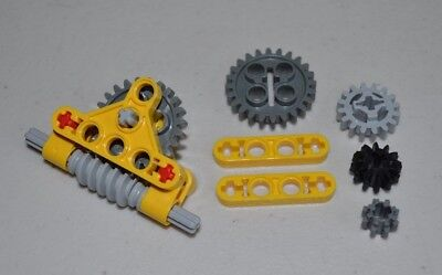 technic,mindstorms,nxt,gearbox,worm,axle,compact,robot Lego Gear REDUCER Block