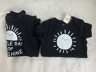 NWT Gymboree Little Ray of Sunshine One Piece Baby Girl 3-6 Months NWT