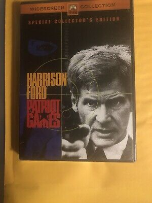 Patriot Games (Special Collector's Ed., Widescreen, DVD, 1992) Brand New!