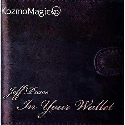 In Your Wallet (DVD and Gimmick) by Jeff Prace and Kozmomagic - Magic Tricks