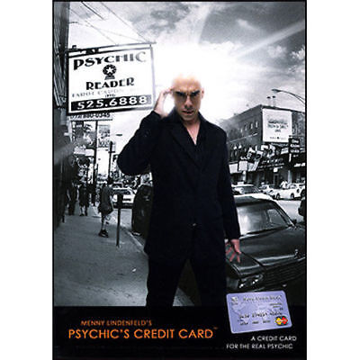 Psychic's Credit Card by Menny Lindenfeld - Magic Tricks