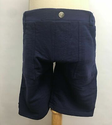Appaman Kids Boys Casual Sweat Shorts Pockets Navy Blue Soft