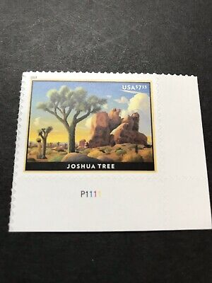 2019 SCOTT #5347 JOSHUA TREE $7.35 PRIORITY MAIL Plate # Single MNH