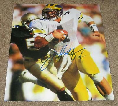 HARBAUG PROOF DYLAN McCAFFREY SIGNED AUTOGRAPHED MICHIGAN WOLVERINES 8X10 PHOTO