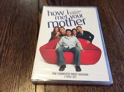 How I Met Your Mother - Season 1 (DVD, 2006 3-Disc Set) BRAND NEW SEALED TV SHOW