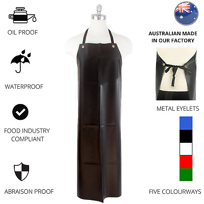 Waterproof Apron PVC Apron Chef Butcher Cleaner Work Heavy duty