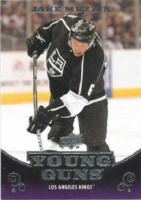 10/11 Ud Jake Muzzin Young Guns Rc Sp Rookie #225 Maple Leafs