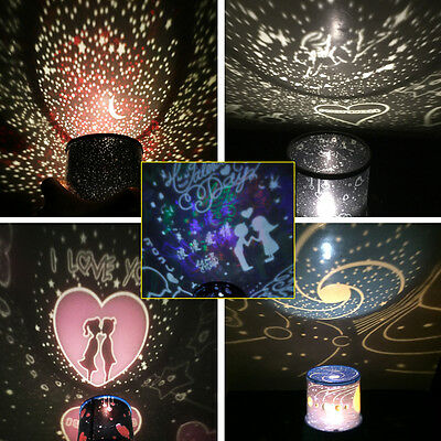 New Romantic LED Starry Night Sky Projector Lamp Fairy Gift light Cosmos Master