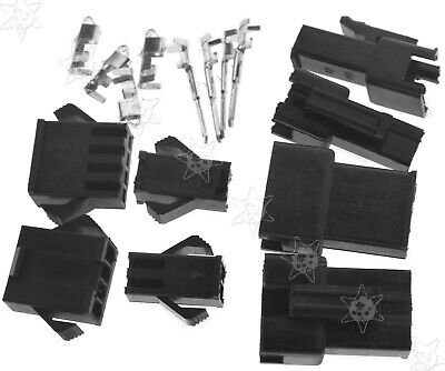 SET JST SM Terminal battery connector 2/4-Pin Plug 10 Pairs (Male & Female)