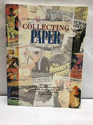 Collecting Paper Collector Identification Value Guide Book Advertising Valentine