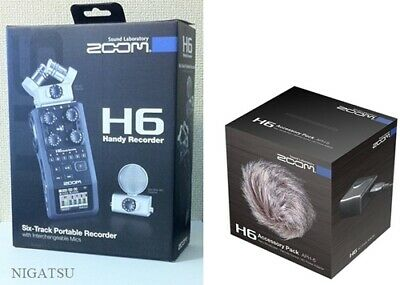 ZOOM H6 PORTABLE Handy Audio Recorder with Interchangeable