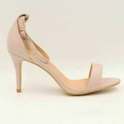 BOOHOO EVE WIDE Fit Low Stiletto Heel Two Parts Women Size