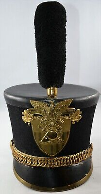 ab40cc94d67 Vintage U.S. Military Academy West Point Shako Parade Hat Helmet - Circa  1900