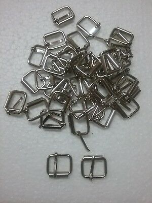 Wire roller buckles 40 x 15mm